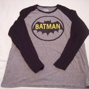 Long Sleeve Batman Tee Shirt